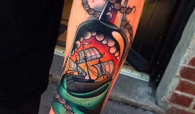 histoire du tatouage new school